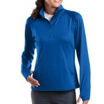 TT4 Ladies Sport Wick® Stretch 1/2 Zip Pullover